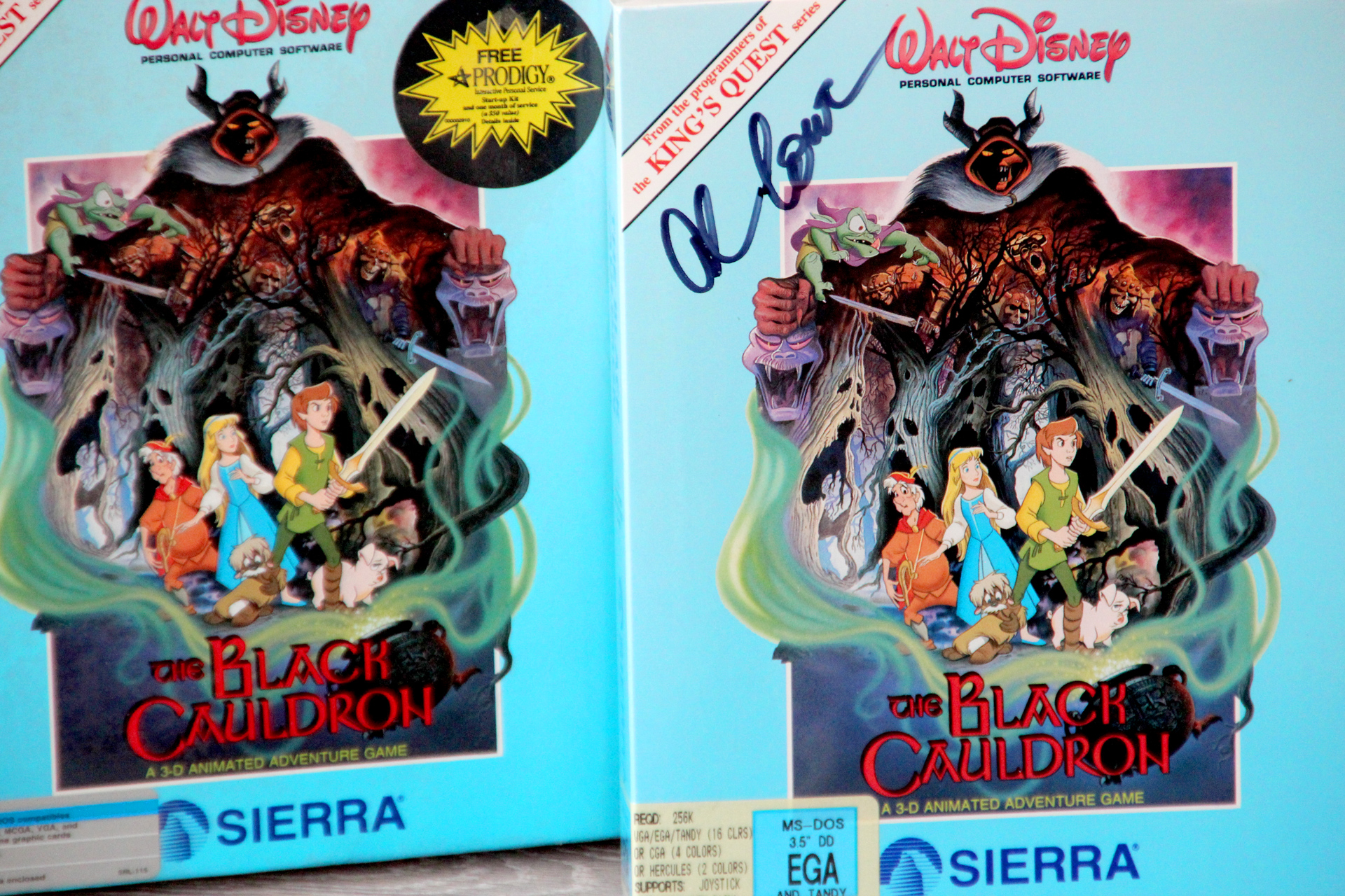 Bits from my personal collection – The Black Cauldron – Retro365